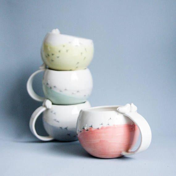 Hey, I found this really awesome Etsy listing at https://www.etsy.com/listing/544098299/love-bird-mug-wedding-mugs-large-coffee