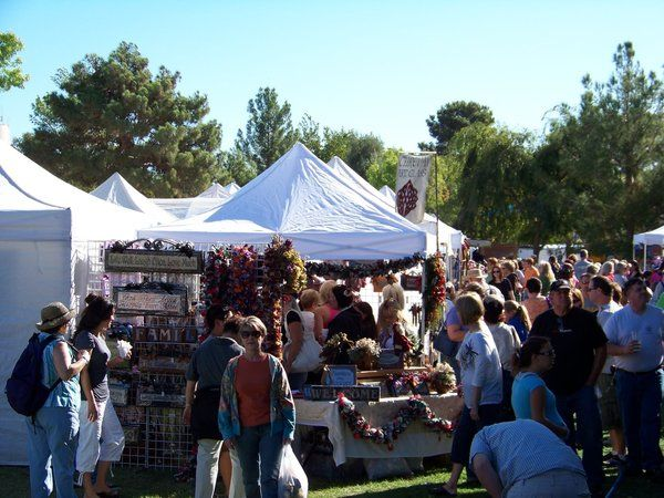 Nevada Boulder City S Art In The Park Showcases Artists Works Wares With Images Boulder City Art In The Park City Art