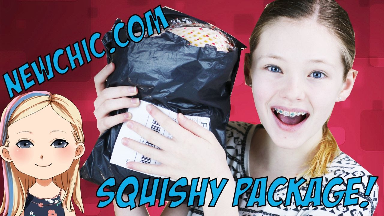 Surprise Squishy Package From NewChic.com - Let's Squish!
