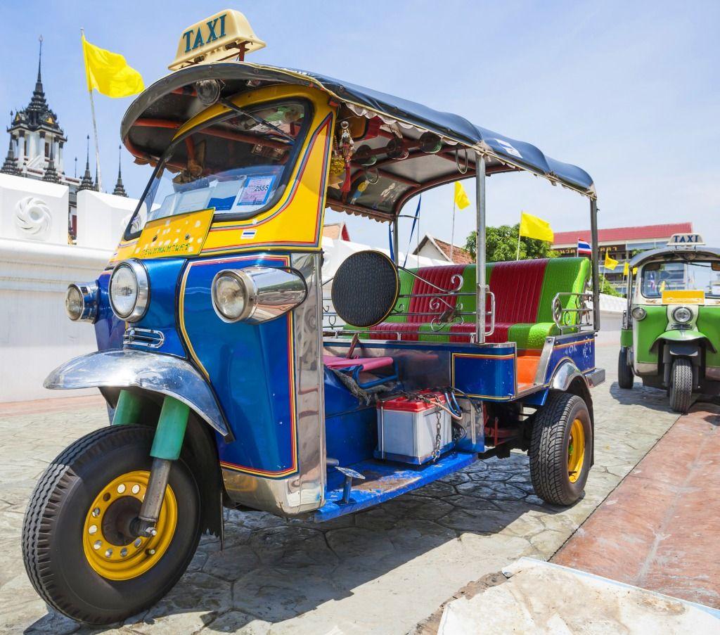 Dovolenka v Thajsku bez cestovky, tuk tuk