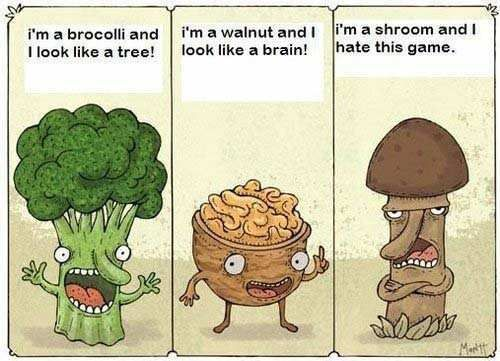 We Adore Our Food Matters Community And We Love Putting A Smile - Amusing illustrations will put smile face