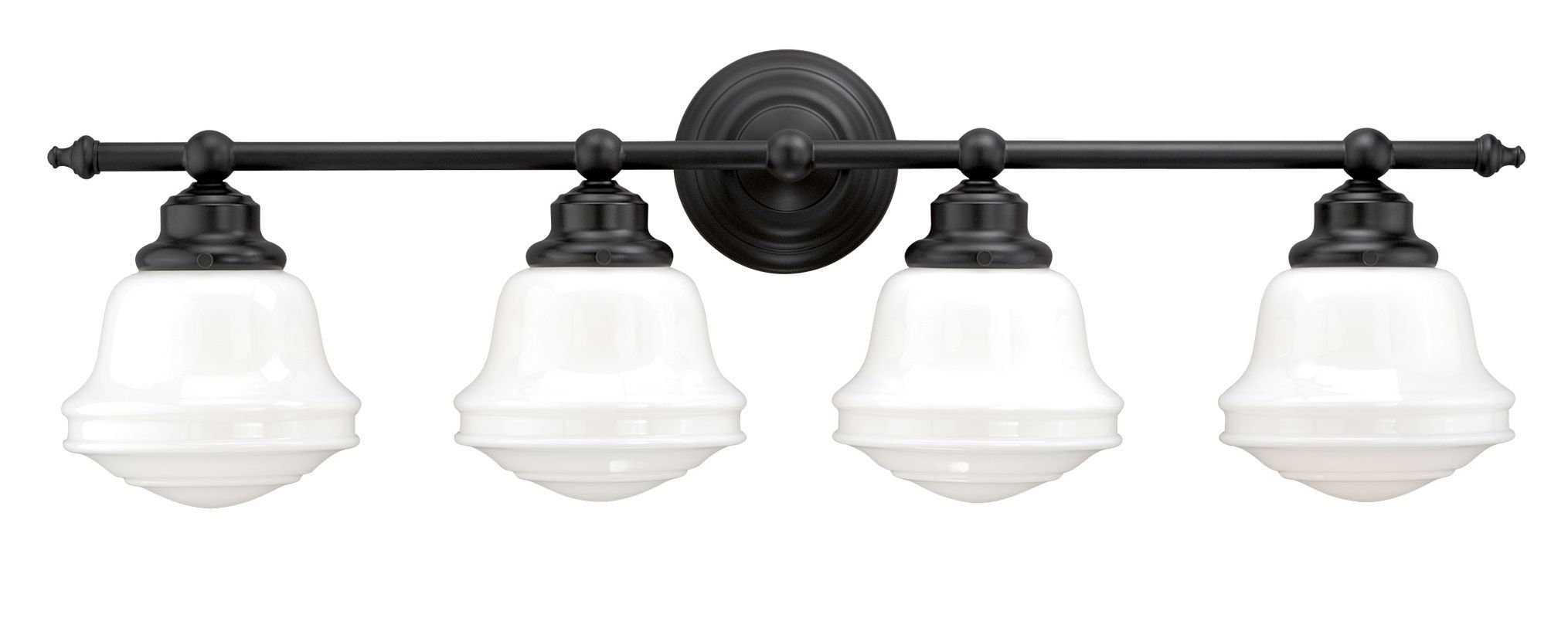 Photo of Vaxcel Lighting W0172 Oil Rubbed Bronze Huntley 4 Light Vanity Light