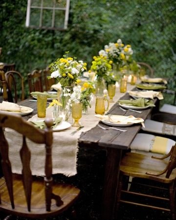 The Table Settings