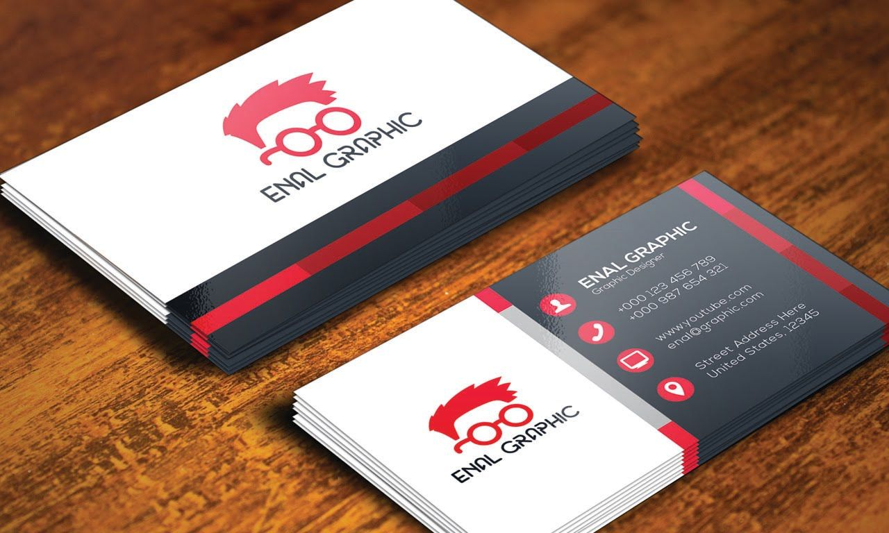 Print ready business card design adobe illustrator cc for How to make a business card in illustrator