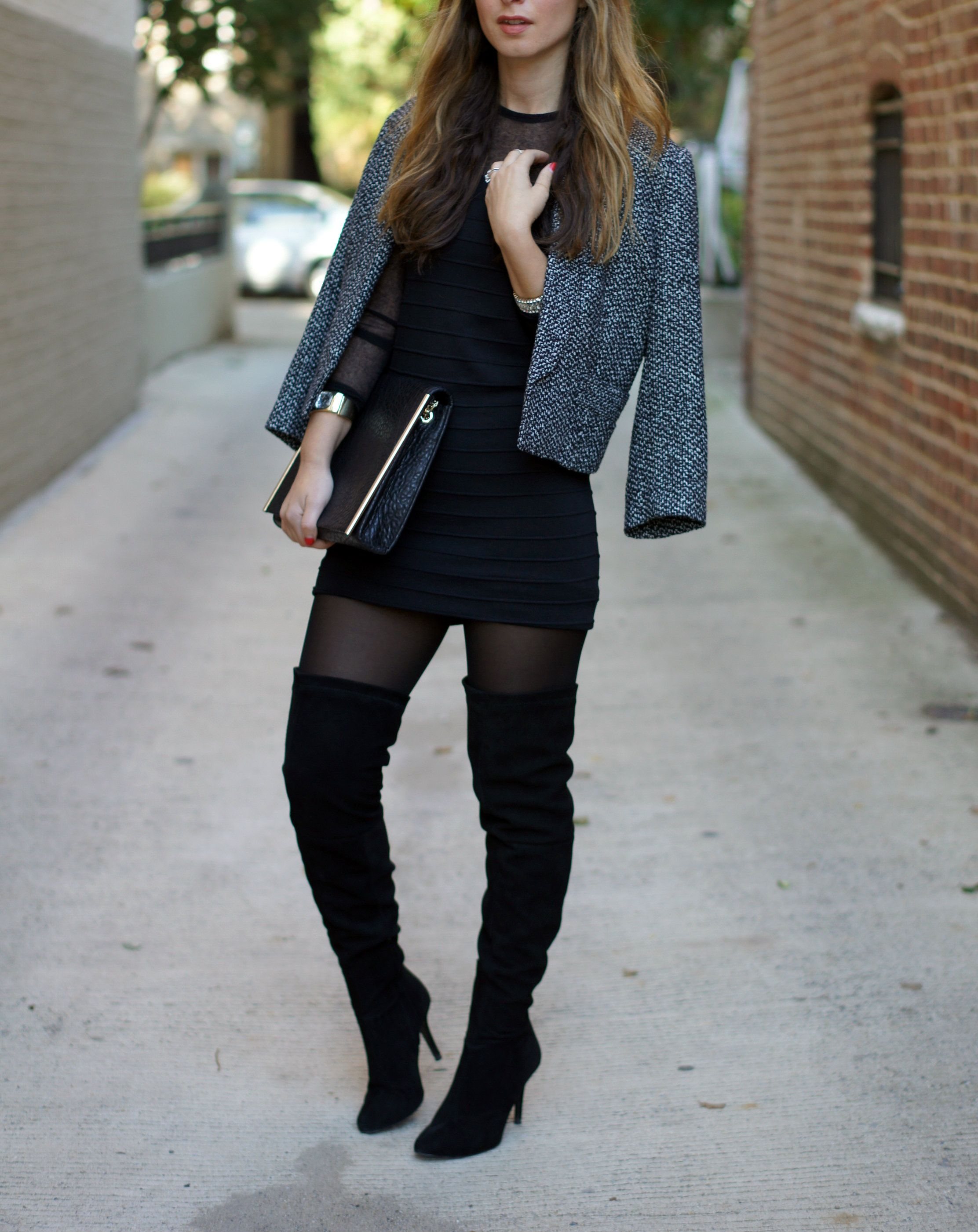 Over the knee boots... | STYLE INSPIRATION | Pinterest | High ...