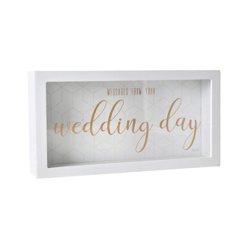 Splosh Gifts Wedding Day Message Box