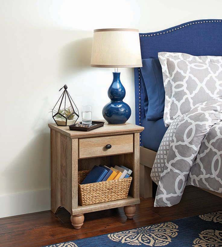 Better Homes Gardens Crossmill Accent Table Weathered Finish Walmart Com Affordable Furniture Innovative Furniture Better Homes
