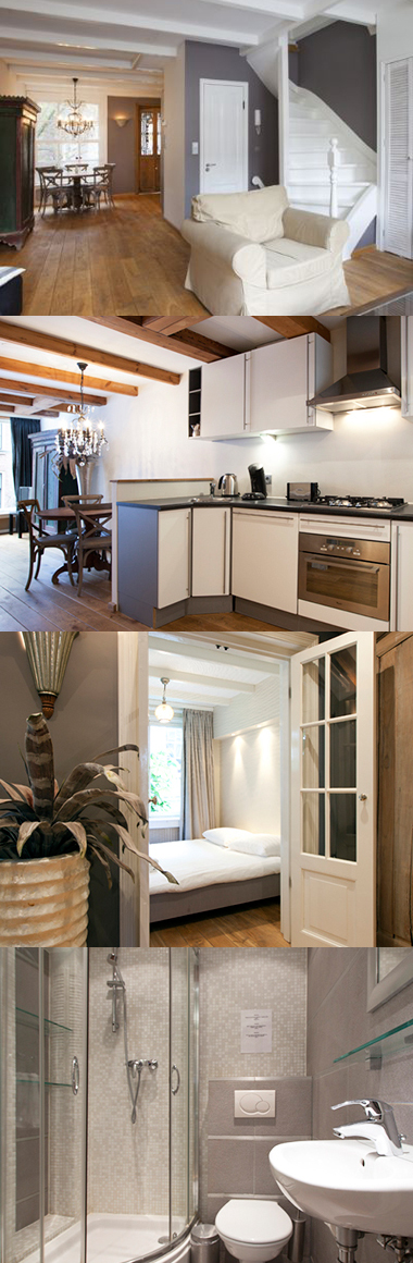 This Amsterdam serviced apartment is in the city centre, a ...