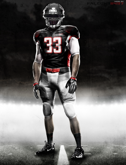246f0ea1 Atlanta Falcons | Concept Jerseys | Nfl uniforms, Seahawks uniforms ...