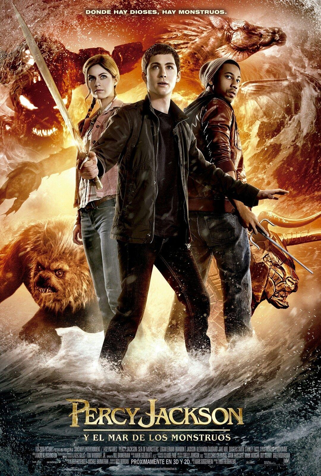 Percy Jackson Y El Mar De Los Monstruos 2013 Mar De Los Monstruos Percy Jackson Monstruo Pelicula
