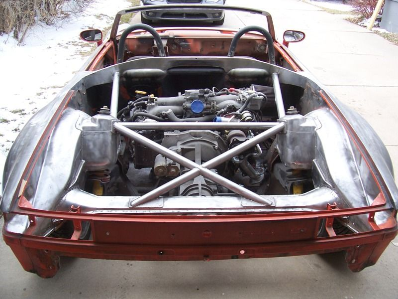 WRX-powered tube-framed Porsche 914 | Porsche | Porsche 914