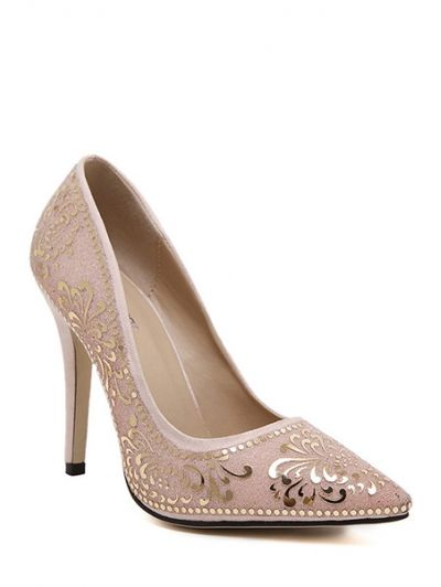 GET $50 NOW | Join Zaful: Get YOUR $50 NOW!http://m.zaful.com/sequined-floral-pointed-toe-pumps-p_182185.html?seid=1844081zf182185