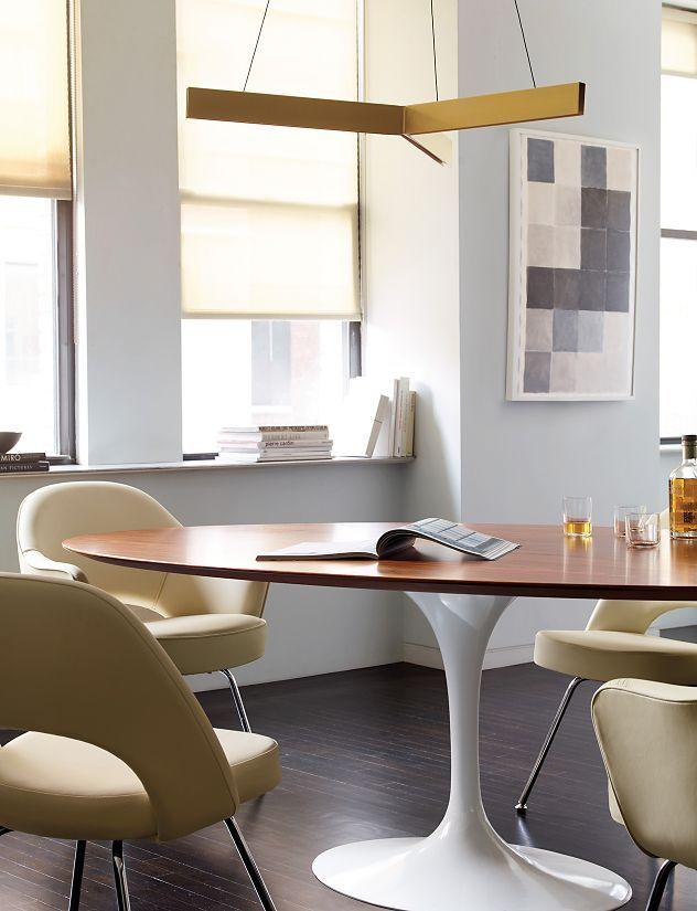 Saarinen Oval Dining Table Dining Room Pinterest Oval Dining - Saarinen oval dining table 78