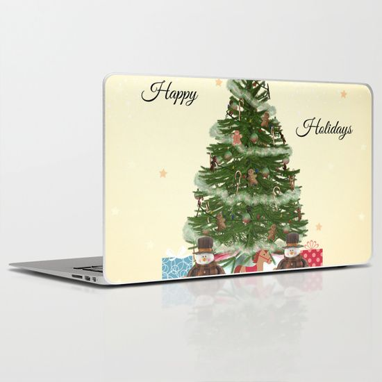 Buy Christmas Tree by haroulita as a high quality Laptop  iPad Skin