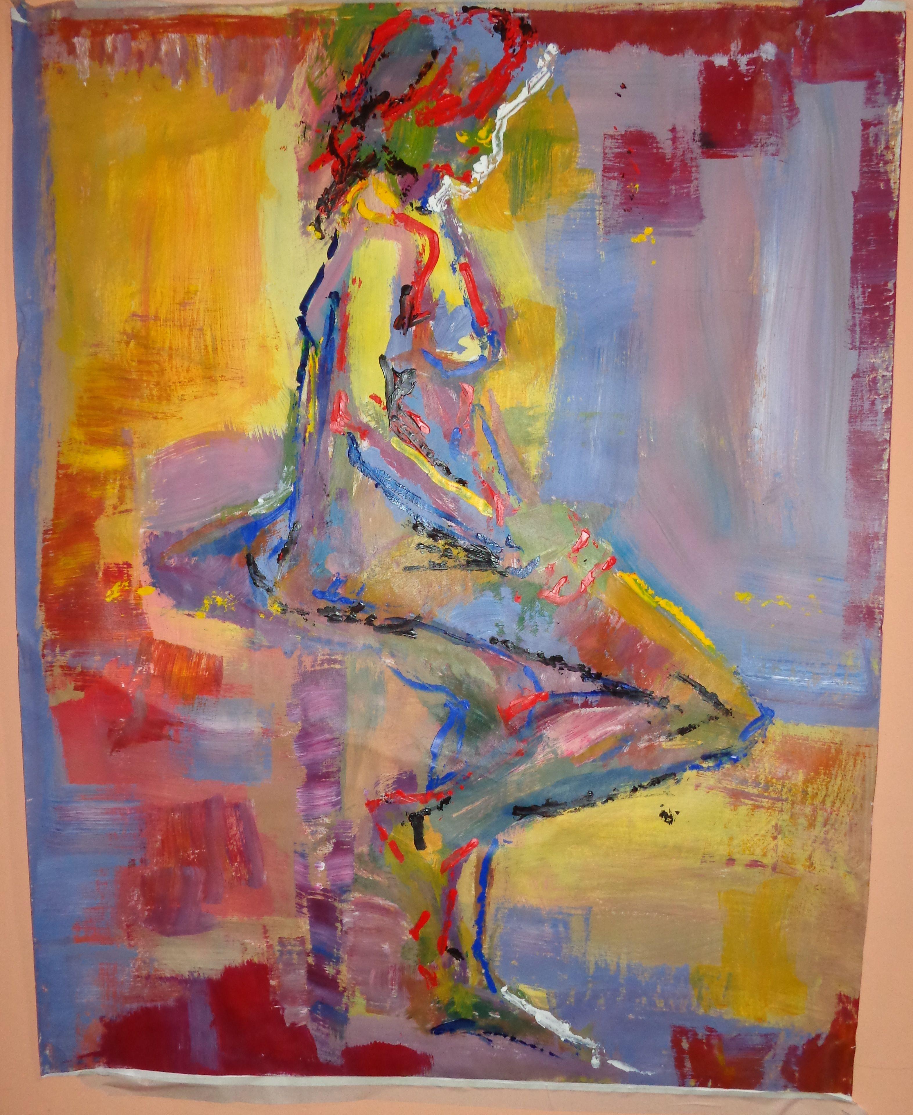 Pintura acríclico