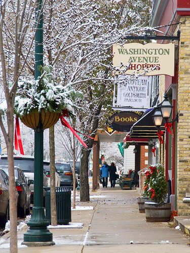 Christmas Ping In Cedarburg Wi