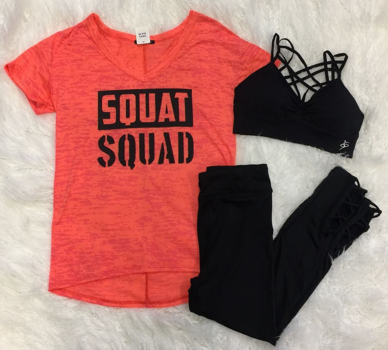 Squat Squad Top: Neon from privityboutique