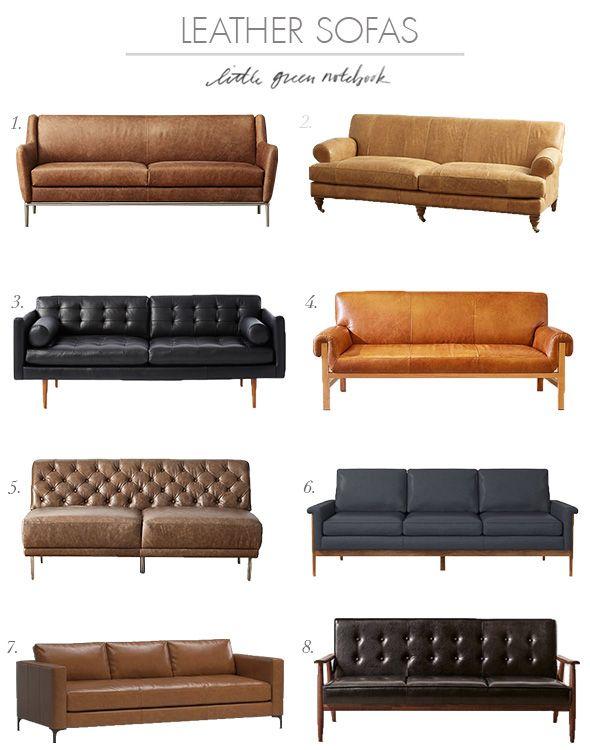 Leather Sofa Roundup Sofa Furniture Leather Sofa Best Leather Sofa