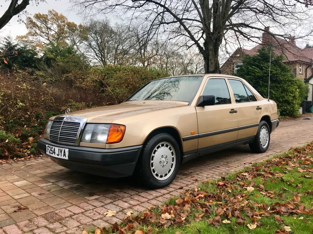 eBay: 1988 Mercedes Benz 300E Auto *Champagne Gold with Heated