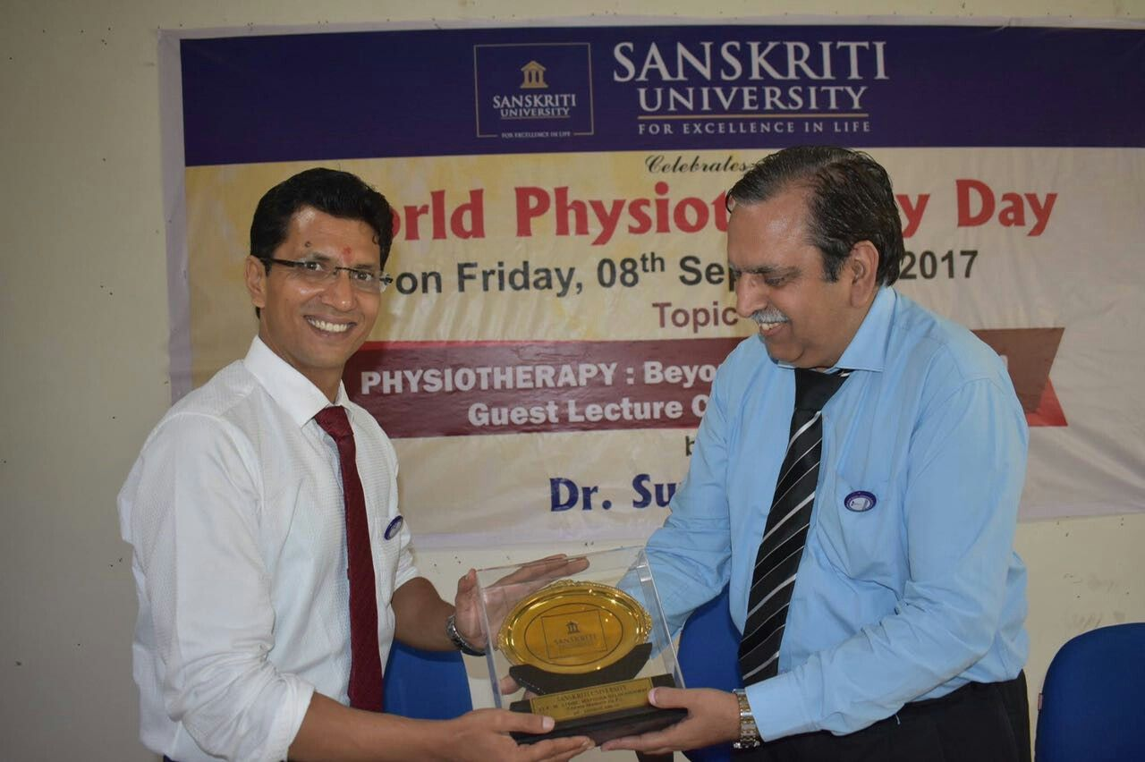 On the occasion of WorldPhysiotherapyDay the School of