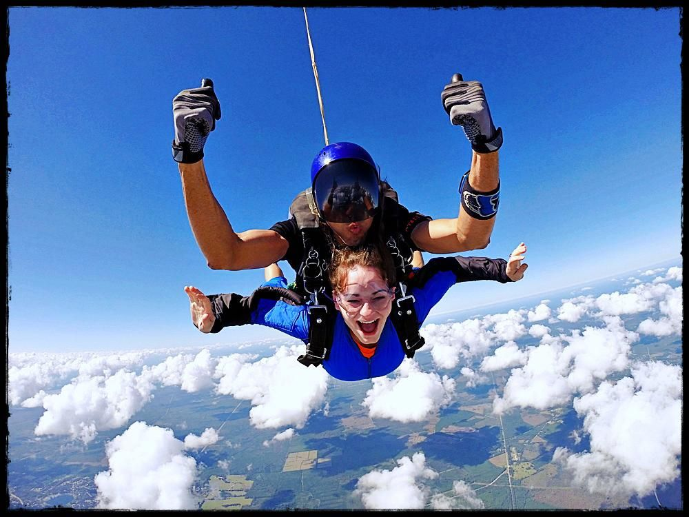 The Feeling Of Tandem Skydiving Skydiving, Where to go