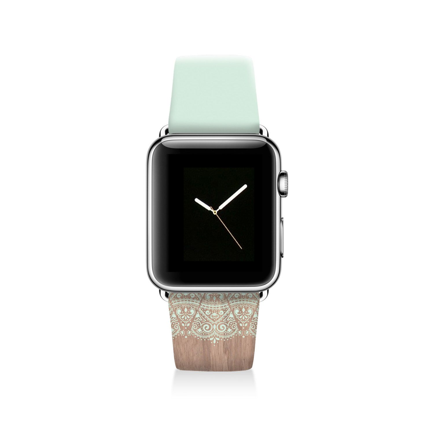 Lace Apple watch band, genuine leather band women, Apple