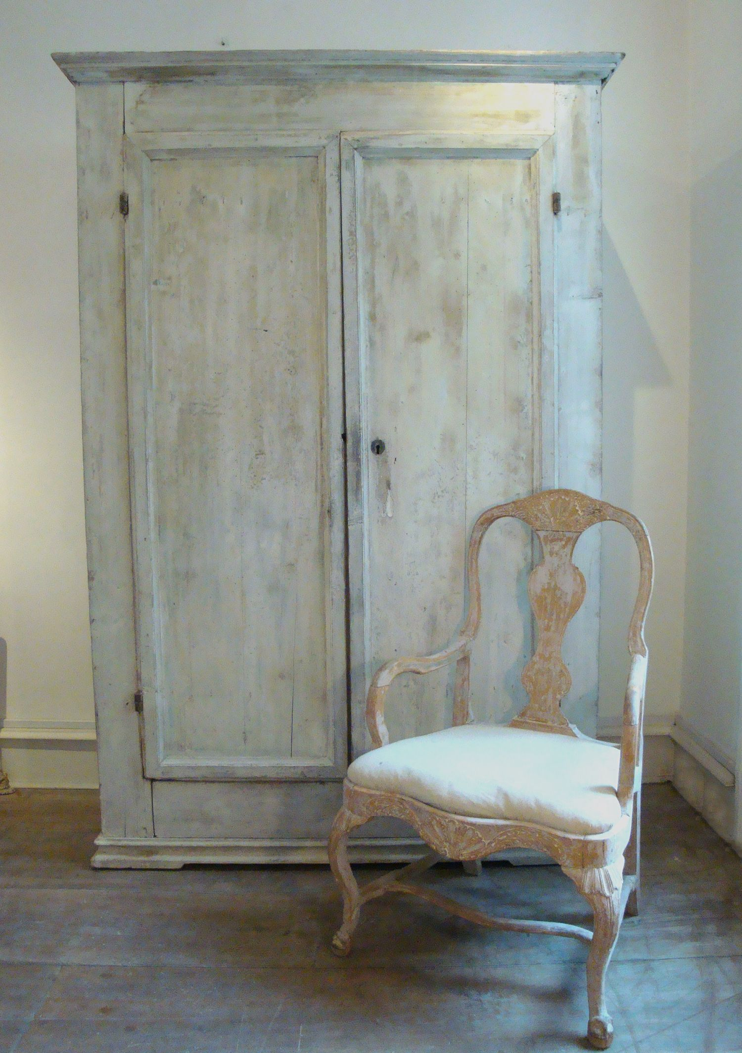 18th Century Tuscan Armoire Http Www Appleyhoare Com Couleurs  # Meubles Style Cottage