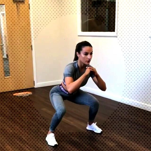 Try this HIIT workout, do each for 1 minute (1) 360 degree jump squats (2) 3 S...#degree