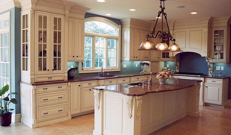 Kitchen Designs with Islands for the Small Kitchen: Kitchen ...
