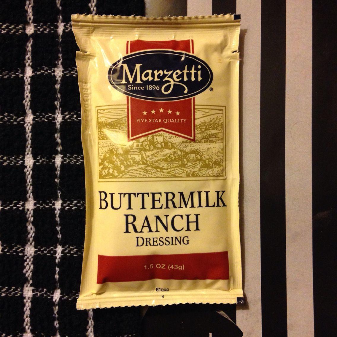 Marzetti Buttermilk Ranch Salad Dressing 1 5 Oz 43g Individual Packet Buttermilk Ranch Dressing Buttermilk Ranch Salad Dressing Buttermilk Ranch