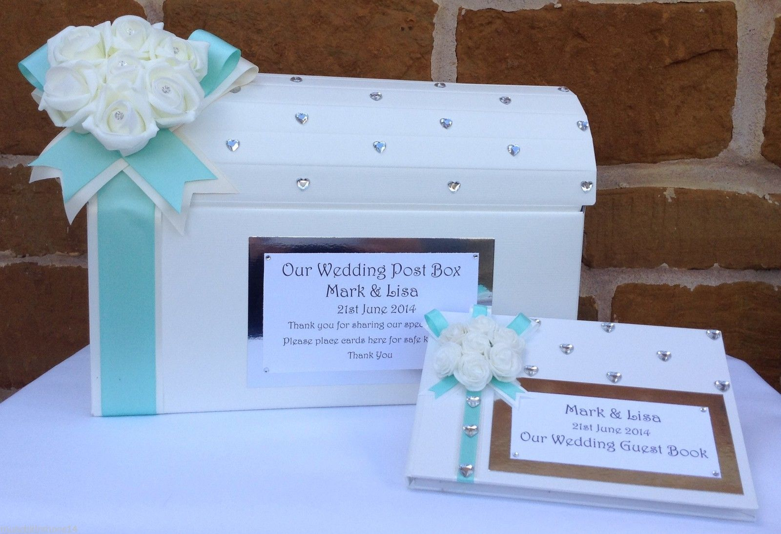 Wedding Card Post Box Favours Wishing Well Guest Book