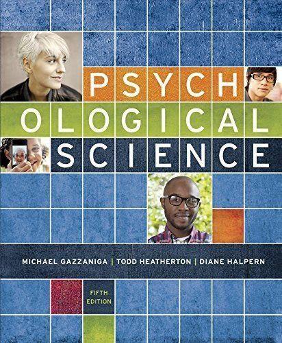 Psychological Science 5th Edition Gazzaniga PDF