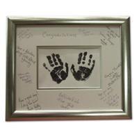 Signature Frame Guestbook Skírn Pinterest Birthday First