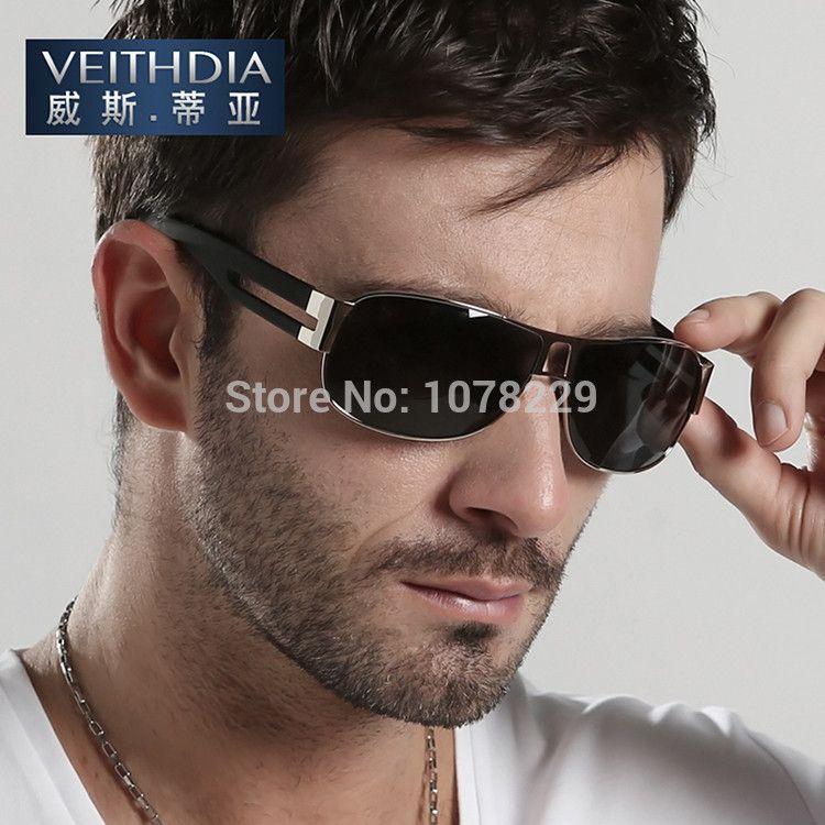 Male Famous brand sunglasses men Polarized sun glasses