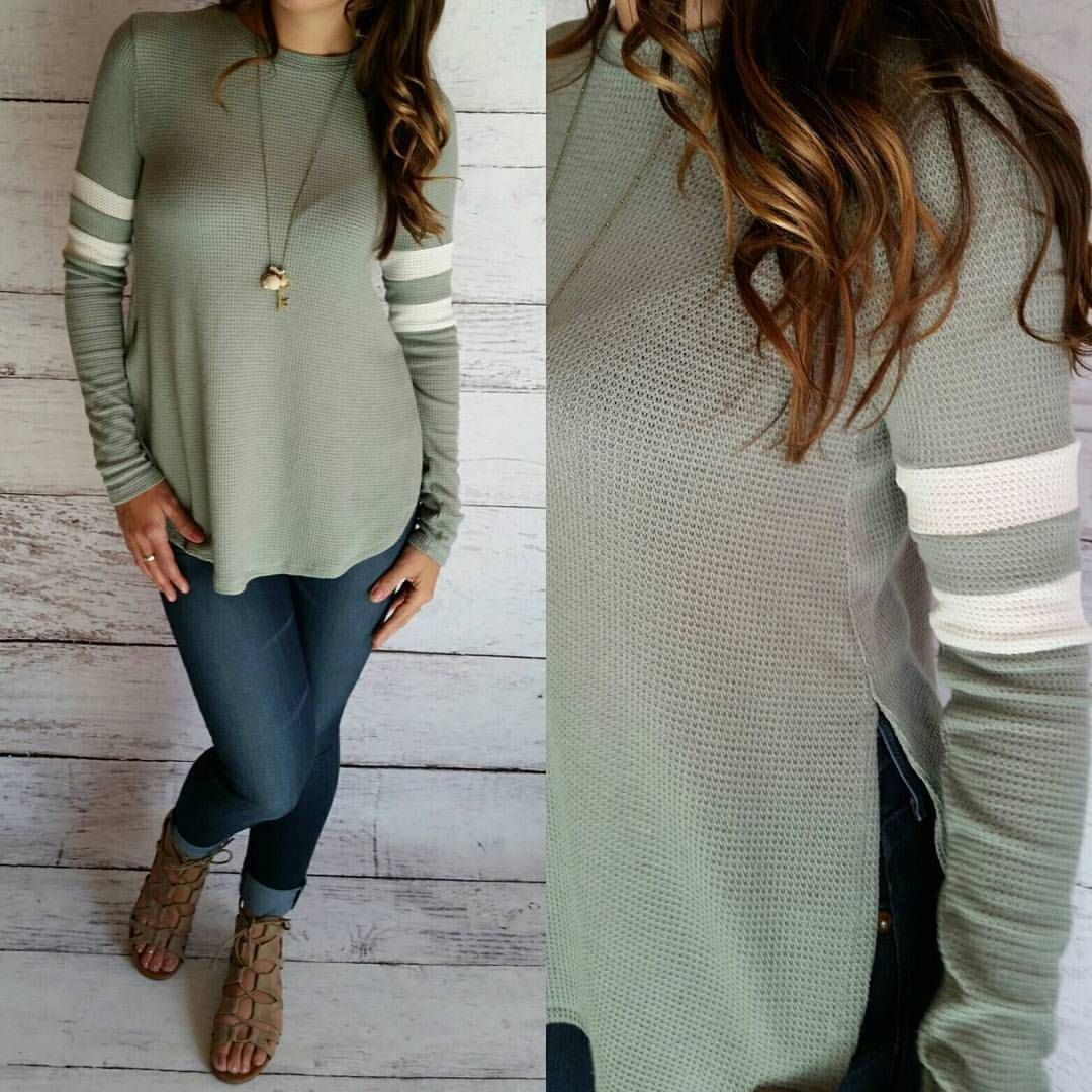 """24 Likes, 1 Comments - Trend Traveler Boutique (@trend_traveler_boutique) on Instagram: """"Loving this sage and ivory color combo!  #shoptrendtraveler #boutique #fashion #spring…"""""""