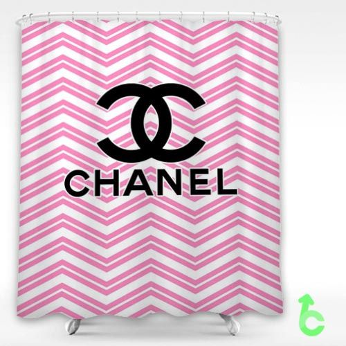 #Chanel #cute #pink #zigzag #Shower #Curtain #coco #cocochanel #logo #showercurtain #decorative #bathroom #creative #homedecor #decor #present #giftidea #birthday #men #women #kids #newhot #lowprice #cover #favorite #custom #friend