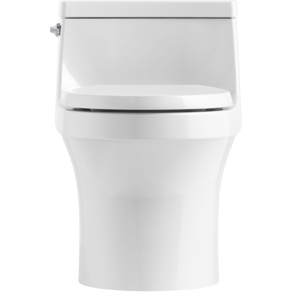 Kohler K 4007 0 San Souci White One Piece Round Bowl Toilets