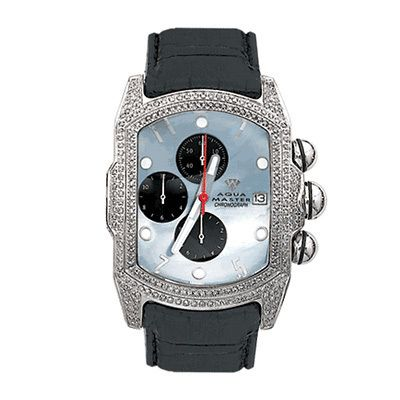 aqua master diamond watches mens bubble watch 2 50ct mothers aqua master diamond watches this mens bubble watch by aqua master features 2 50 ctw of