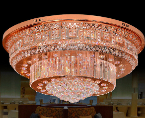 Rose gold ceiling light | Gold ceiling light, Ceiling lights