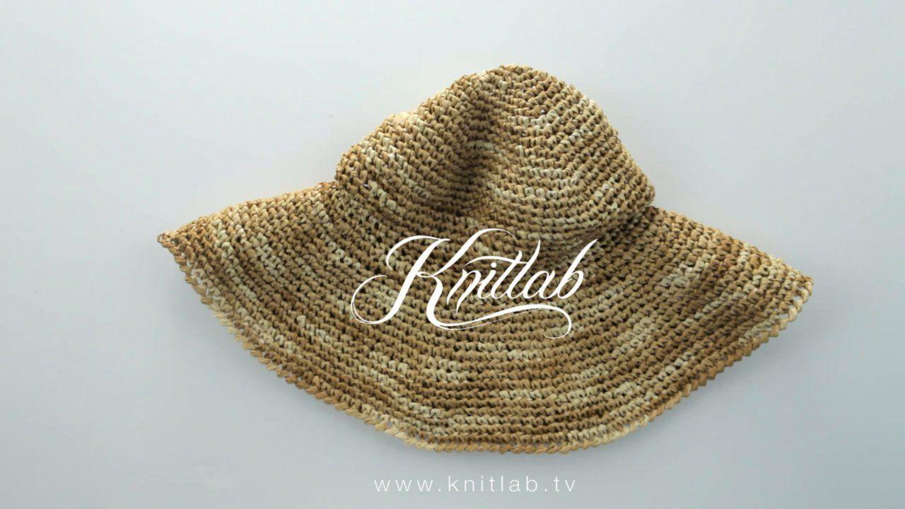 Knitlab uncinetto | progetto speciale | il Cappello di Rafia. Guarda tutti i tutorial e scarica le schede dei punti su: http://www.knitlab.org/tutorial-maglia/