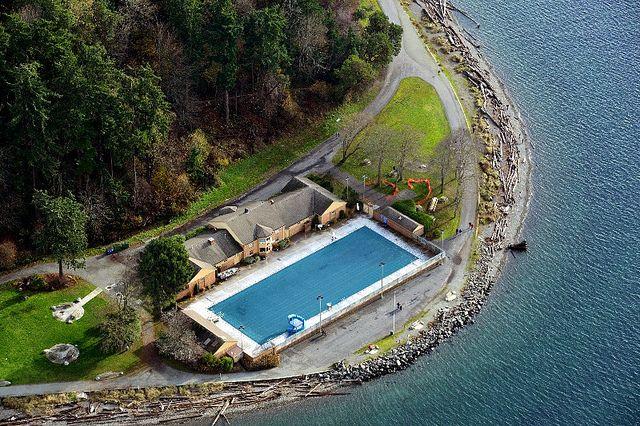 Colman Pool Lincoln Park West Seattle Saltwater Pool Pool West Seattle