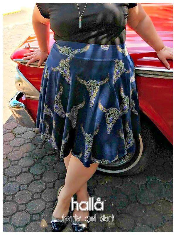 Twirly girl skirt for women