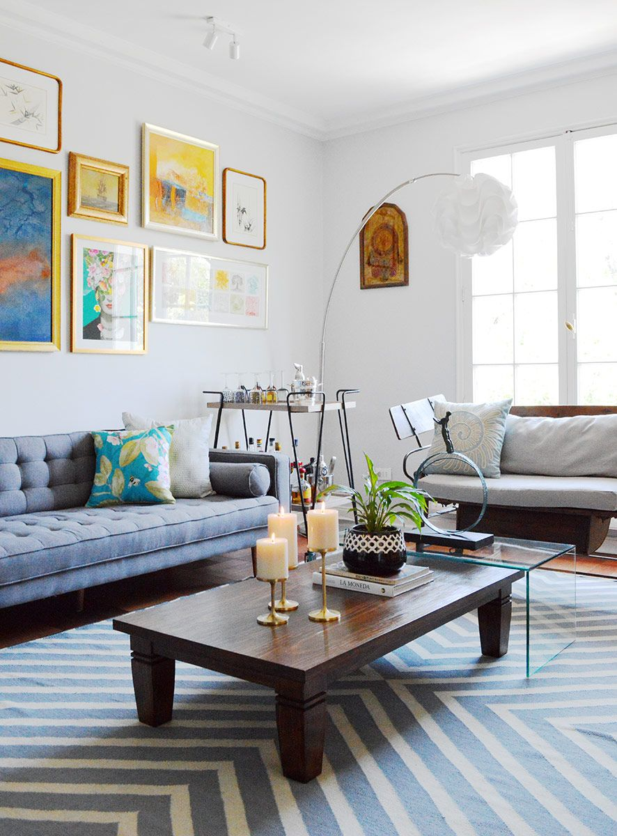 Decoración de living modern chic | Chic living room, Room decor and ...