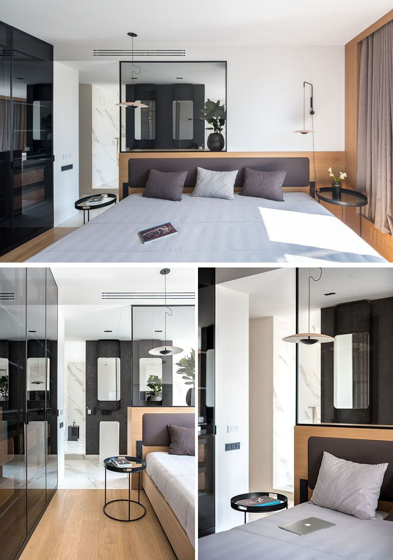 Master bedroom ensuite design  ZOOI Interior Studio Have Designed A Large And Open Apartment In