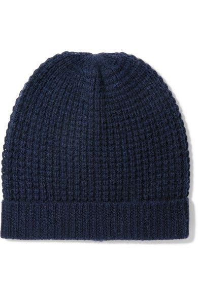 7ec70a98 MADELEINE THOMPSON Holby waffle-knit cashmere beanie. #madeleinethompson # hats