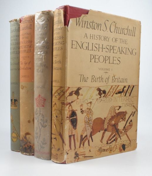 Winston Churchill History Of The English Speaking Peoples First Edition Book Collectors Winston History