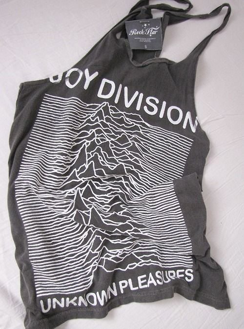 b2fa337c8b5bca Joy Division tank top   I don t know what s with me