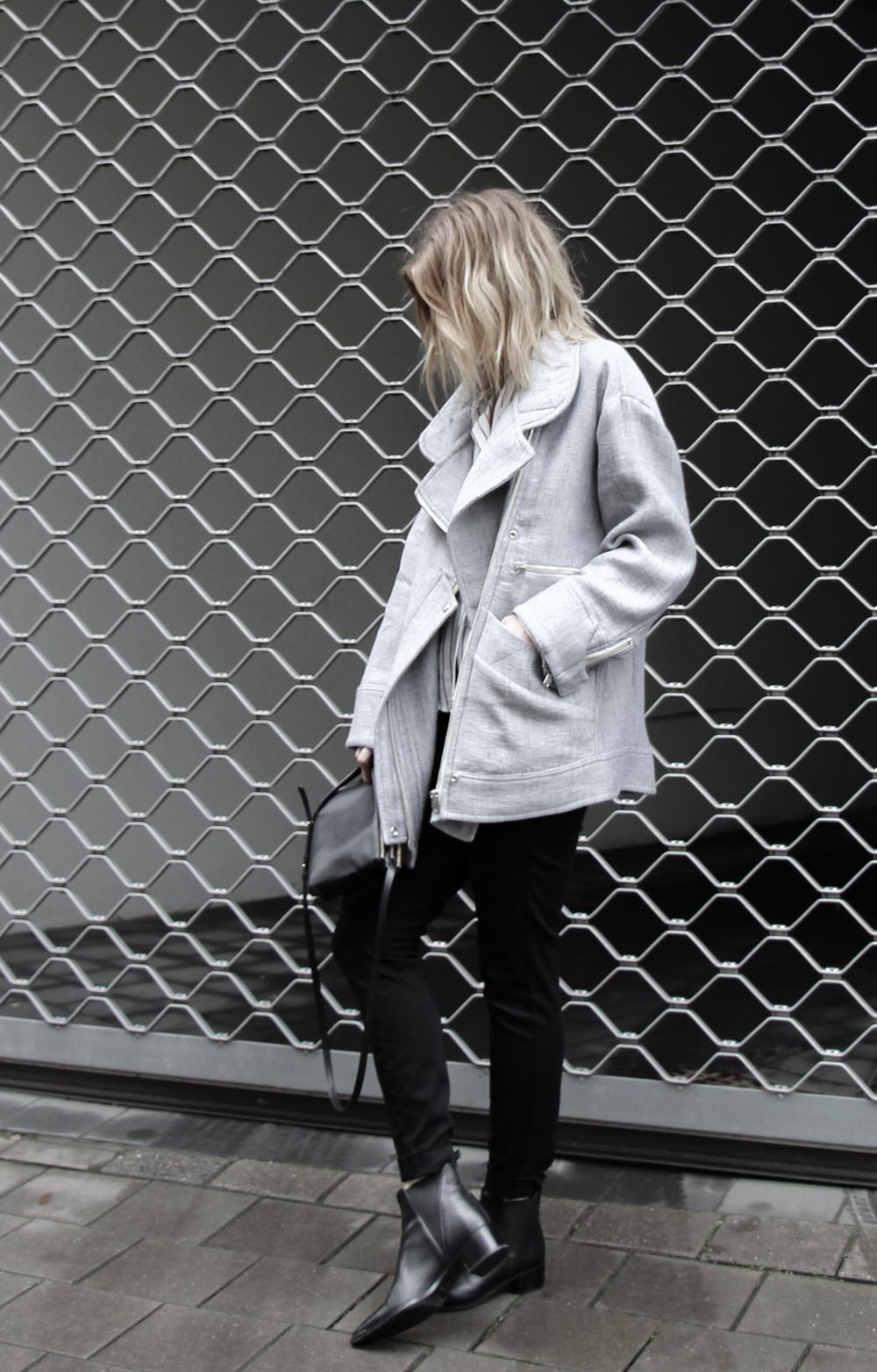 Iro grey spring coat via D a m o y . E - s h o p. Click on the image to see more!