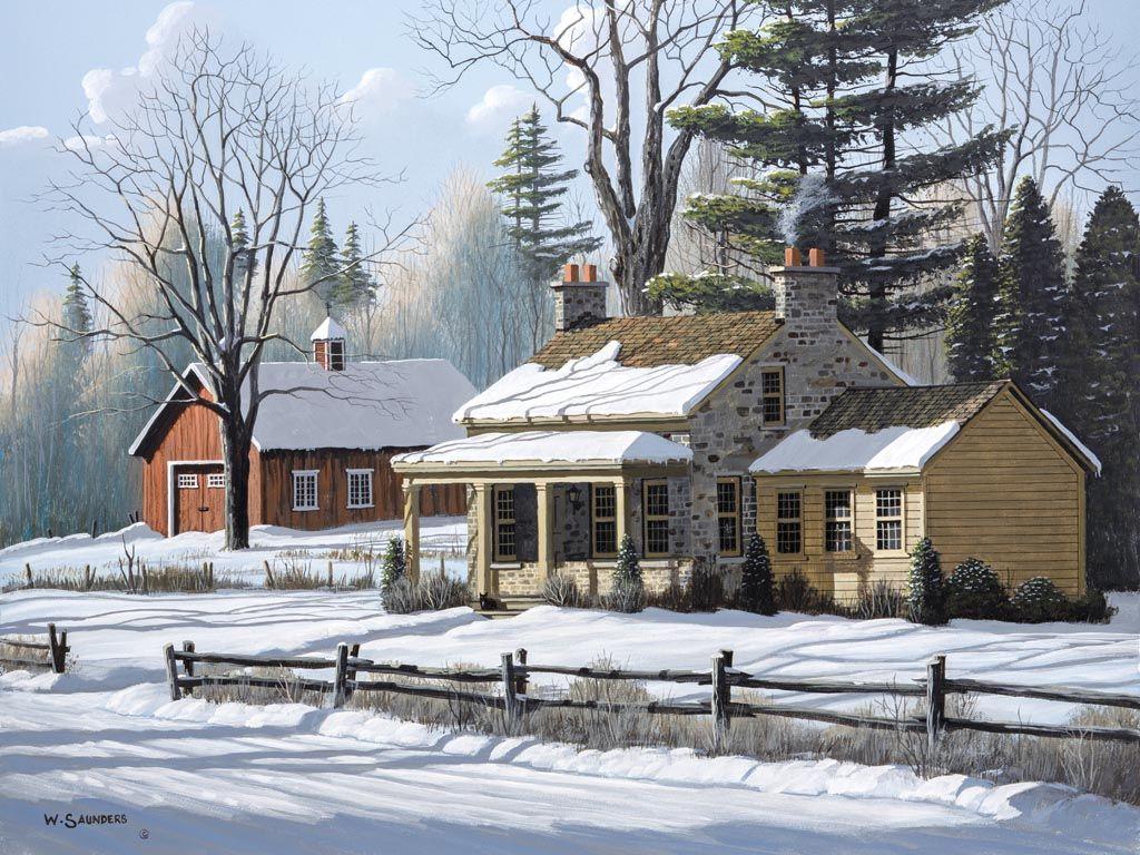 Lang Wallpaper | January 2015 | Road Home | Rural scenes ...