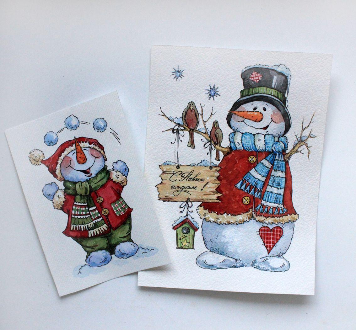 только новогодние открытки и рисунки своими руками только универсальны
